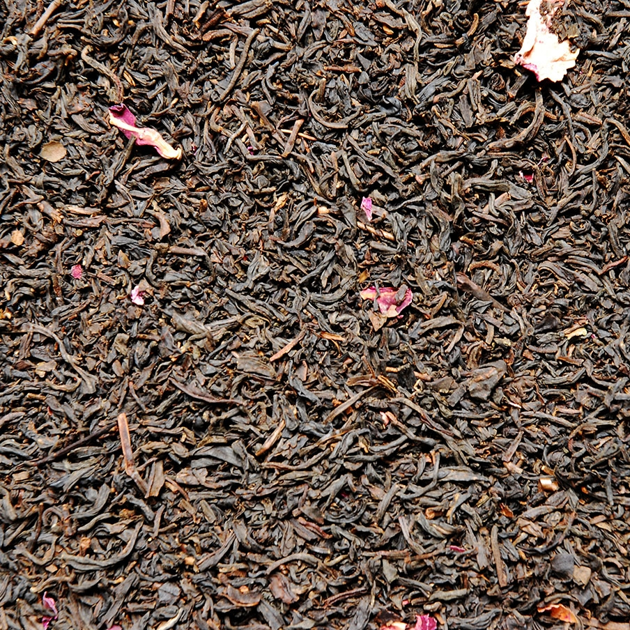 Black Tea with Rose Petals