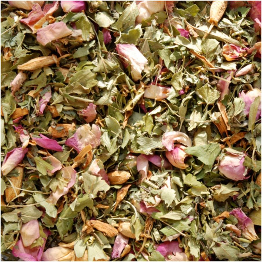 Aubépine, oranger, rose & passiflore
