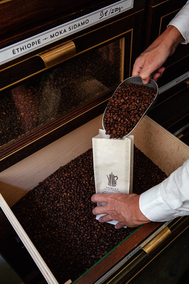 Achat grain café Verlet