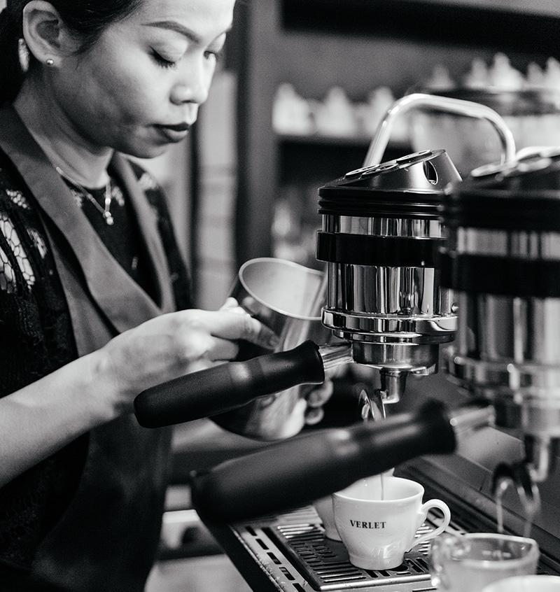 Café expresso Verlet